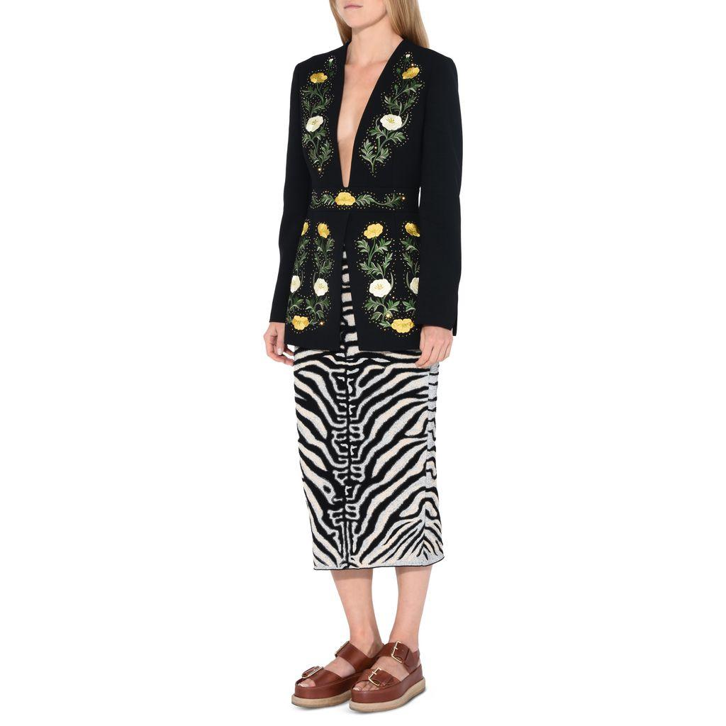 Embroidered Evening Jacket   - STELLA MCCARTNEY