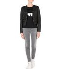KARL LAGERFELD CROPPED LEATHER ZIP JACKET 8_d