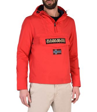 NAPAPIJRI RAINFOREST SLIM SUMMER MAN RAINFOREST,RED