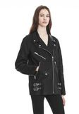 ALEXANDER WANG CLASSIC BIKER JACKET  JACKETS AND OUTERWEAR  Adult 8_n_a