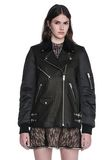 ALEXANDER WANG HYBRID MOTO BOMBER JACKET  JACKETS AND OUTERWEAR  Adult 8_n_e
