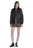 ALEXANDER WANG HYBRID MOTO BOMBER JACKET  JACKETS AND OUTERWEAR  Adult 8_n_f