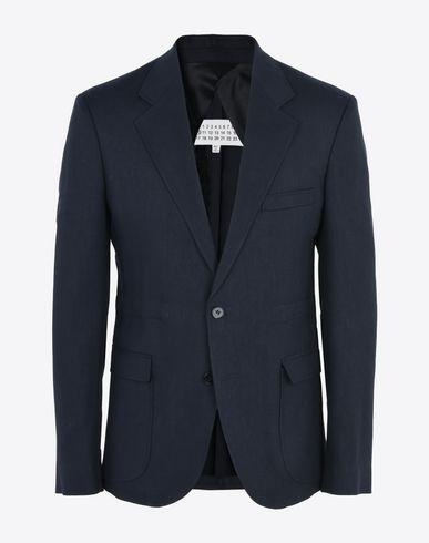 MAISON MARGIELA 10 Jacket U Linen wool twill blazer f