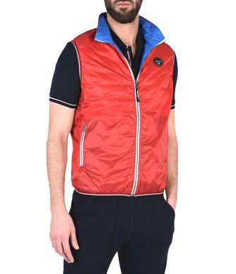 NAPAPIJRI ANNISTON REVERSIBLE MAN VEST,RED