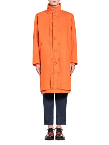 Marni Reversible coat in techno poplin Man
