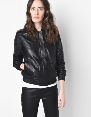 TRUSSARDI - Leather jacket