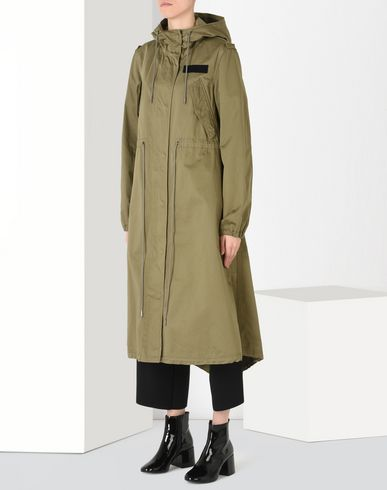 MM6 by MAISON MARGIELA Trench coat Raincoat D f