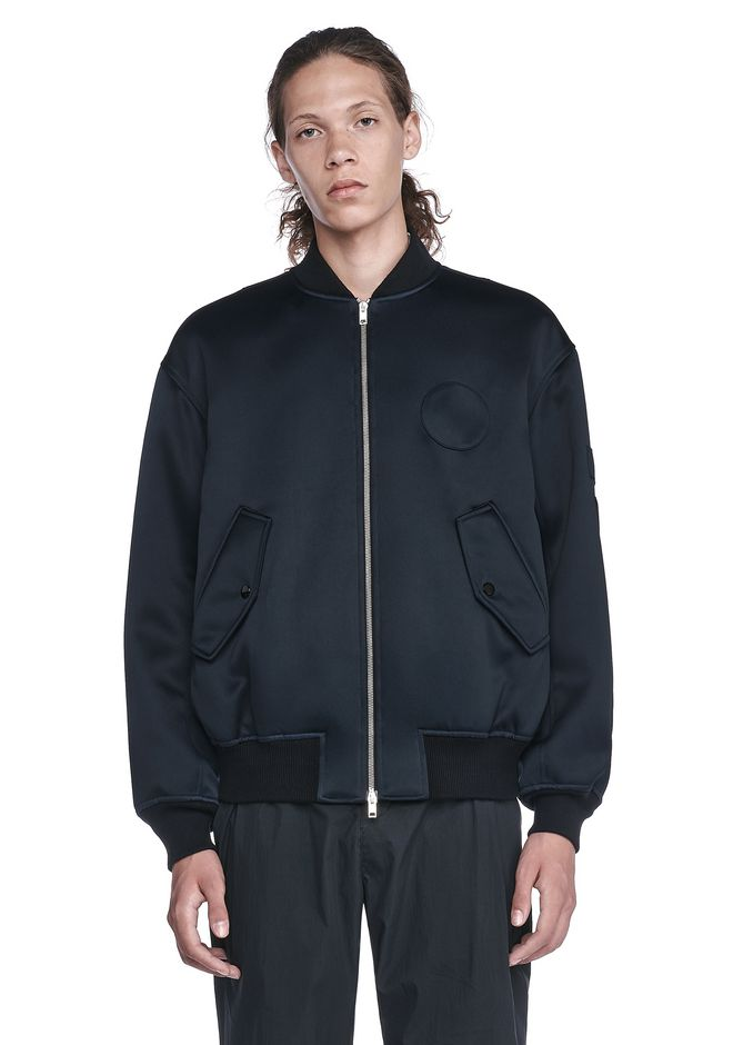 ALEXANDER WANG nwvmens-apparel PATCHED BOMBER