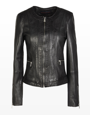 TRUSSARDI JEANS - Leather jacket