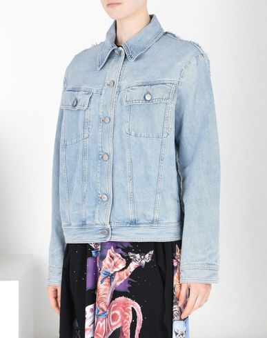 MM6 by MAISON MARGIELA Double-effect denim jacket Jacket D f