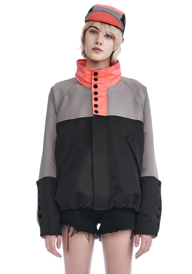 ALEXANDER WANG new-arrivals-ready-to-wear-woman OVERSIZED WINDBREAKER