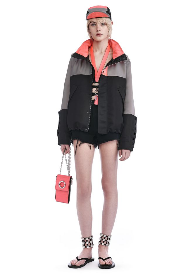 ALEXANDER WANG JACKETS AND OUTERWEAR  OVERSIZED WINDBREAKER