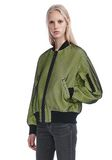 ALEXANDER WANG NEON BOMBER JACKET WITH MESH OVERLAY JACKETS AND OUTERWEAR  Adult 8_n_a