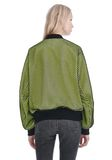 ALEXANDER WANG NEON BOMBER JACKET WITH MESH OVERLAY JACKETS AND OUTERWEAR  Adult 8_n_d