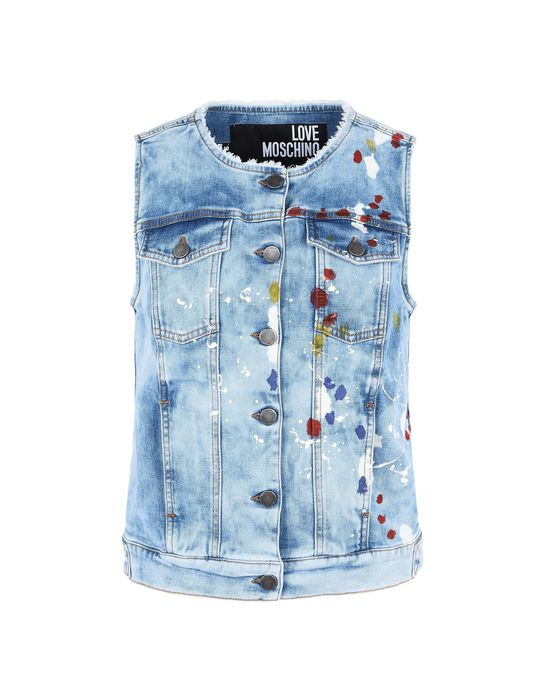 TOPWEAR - Vests Love Moschino Shop Offer Cheap Price Sale Cheap Prices 50pvEkZ