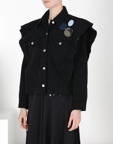 MM6 by MAISON MARGIELA Oversize jacket with printed back Jacket D f