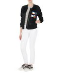 KARL LAGERFELD Embroidered Bomber 8_d