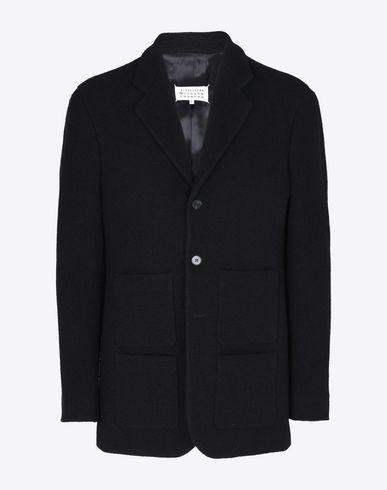 MAISON MARGIELA 10 Jacket U Bouclé cotton jacket f