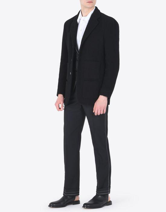 MAISON MARGIELA 10 Bouclé cotton jacket Blazer U d