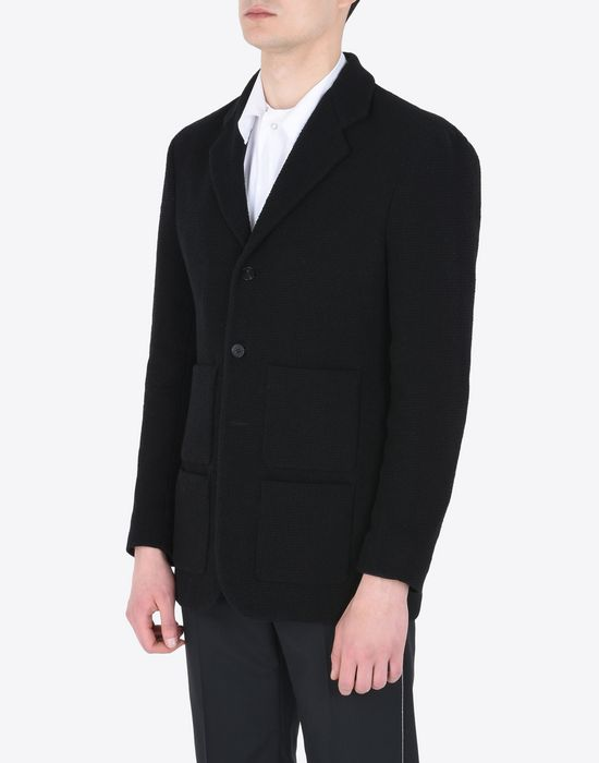 MAISON MARGIELA 10 Bouclé cotton jacket Blazer U r
