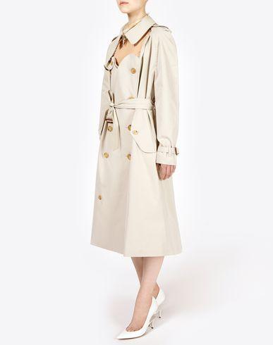 MAISON MARGIELA Raincoat D Décortiqué' trench coat f