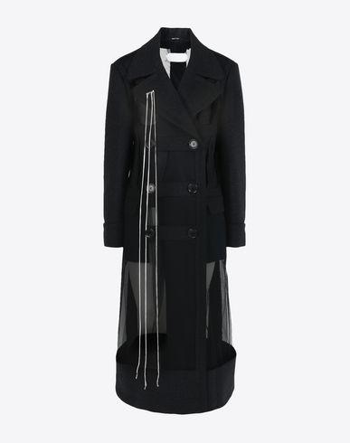 MAISON MARGIELA Coat D Décortiqué wool coat f