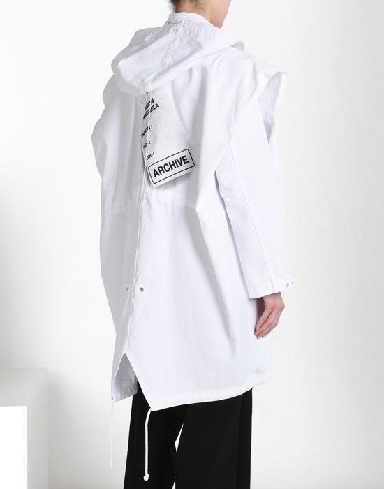 MM6 MAISON MARGIELA Oversize sports jacket with 'Archive' print Full-length jacket Woman d