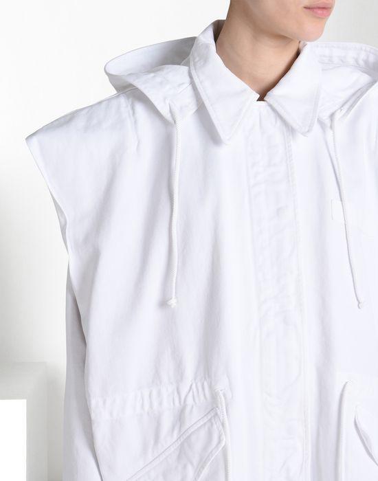 MM6 MAISON MARGIELA Oversize sports jacket with 'Archive' print Full-length jacket Woman e