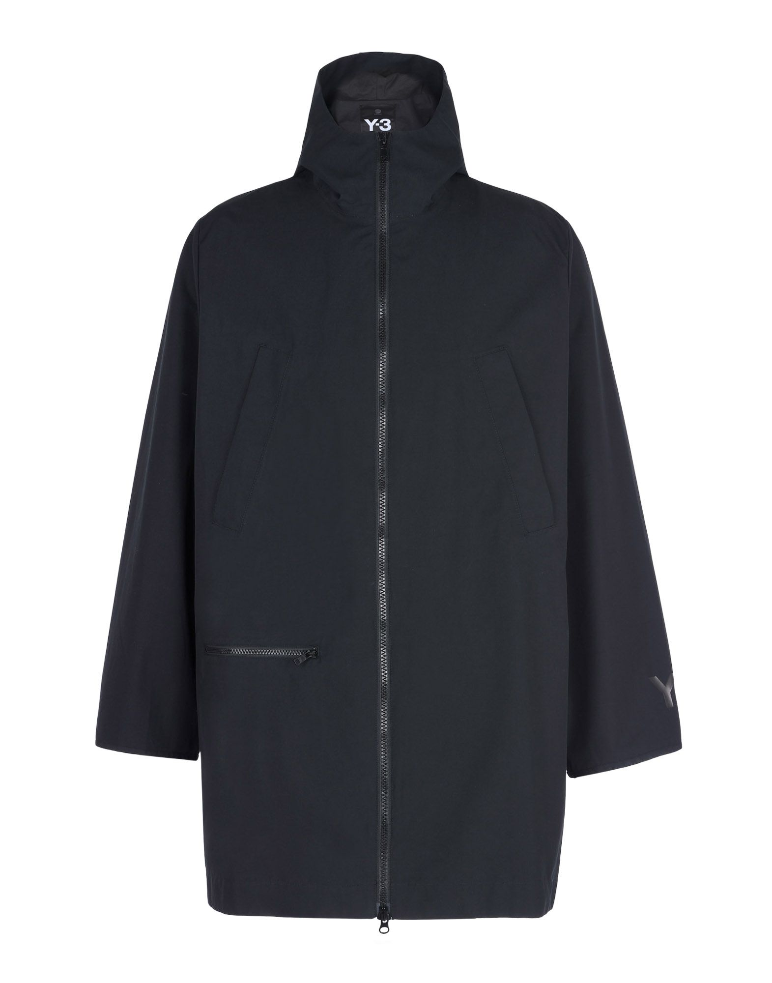 Y 3 REVERSIBLE LONG JACKET Mid Length Jackets for Men | Adidas Y-3 ...