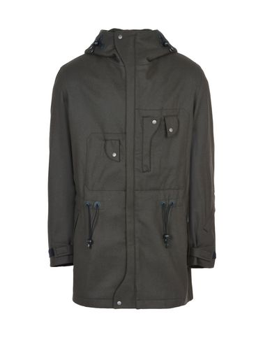 Y-3 WOOL UTILITY SHORT COAT COATS & JACKETS man Y-3 adidas