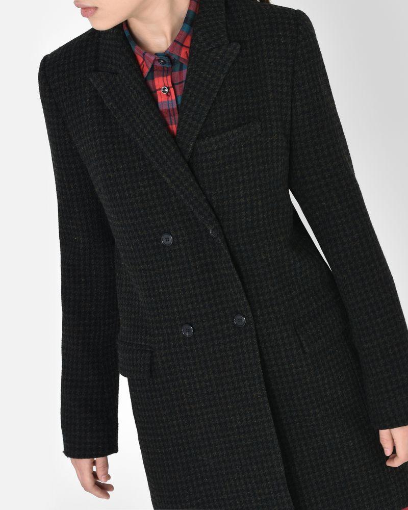 Iken houndstooth wool coat ISABEL MARANT ÉTOILE ...