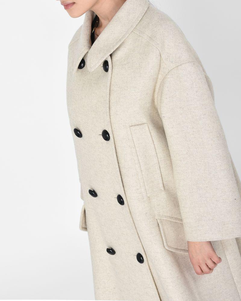 246bc875436c Flicka oversize wool pea coat ISABEL MARANT ÉTOILE ...