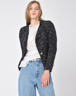 Orson short cotton-blend jacket
