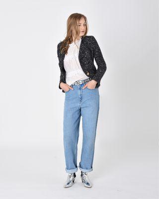 ISABEL MARANT ÉTOILE JACKET Woman Orson short cotton-blend jacket r