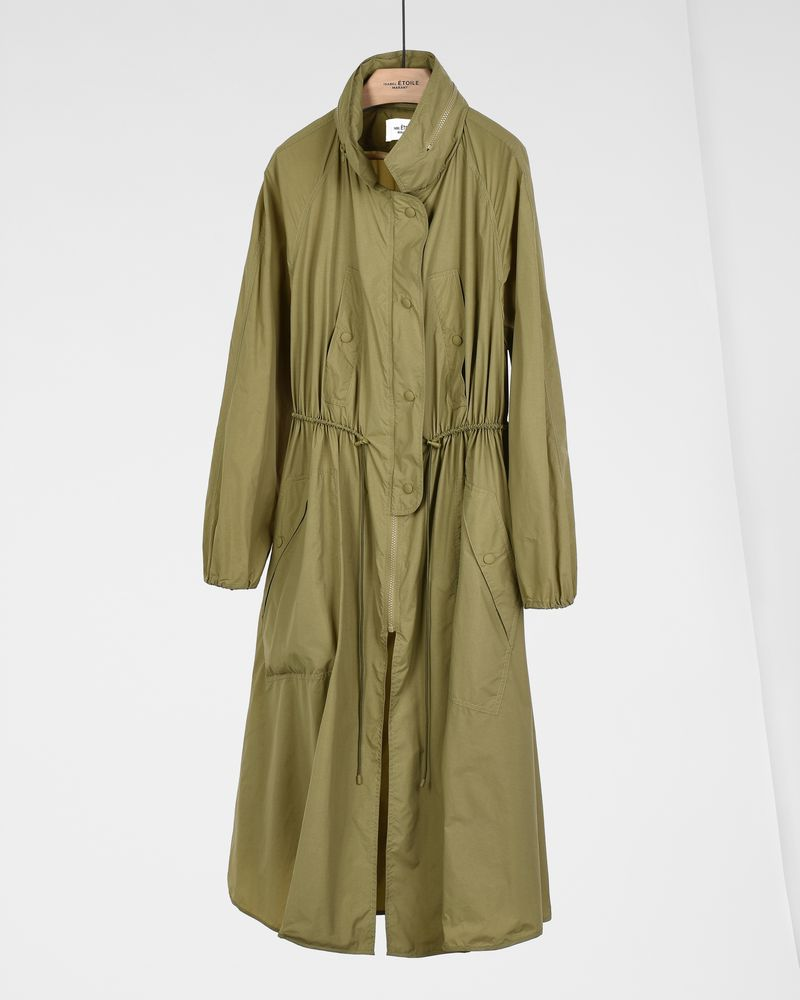 Copal Long waterproof windbreaker coat  ISABEL MARANT ÉTOILE
