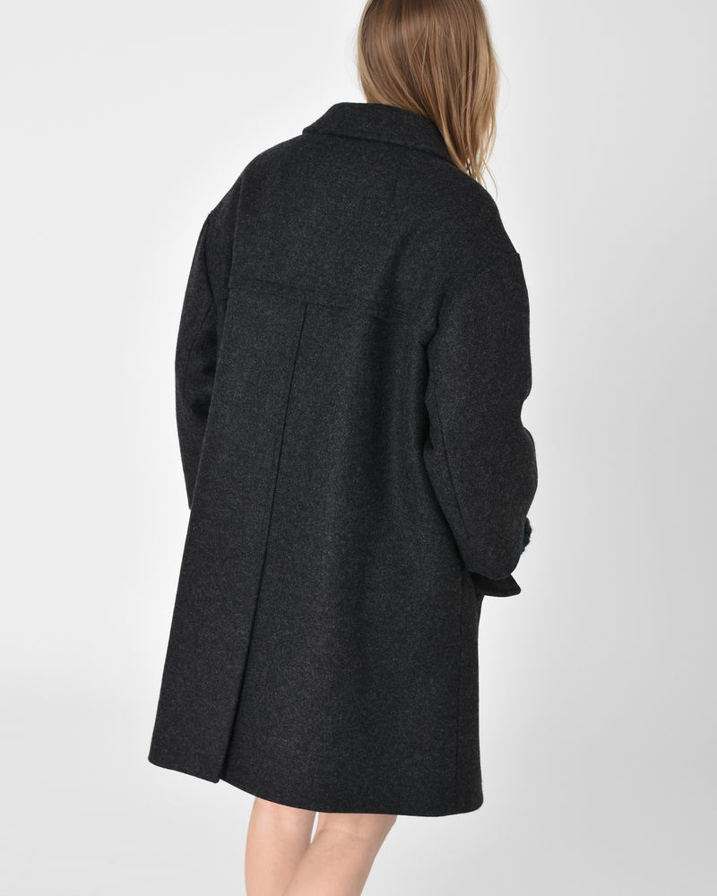 83241e201020 ... Flicka oversize wool pea coat ISABEL MARANT ÉTOILE ...