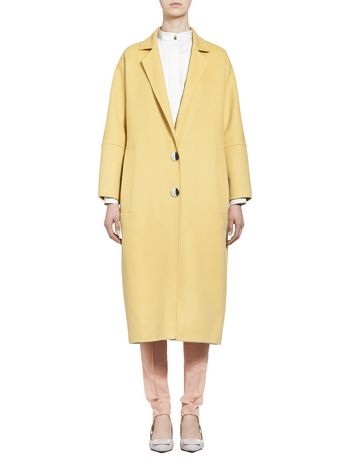 Marni Belted coat in alpaca wool Woman