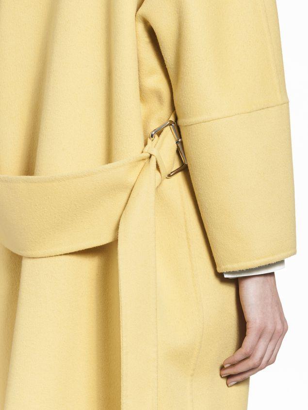 Marni Belted coat in alpaca wool Woman - 4
