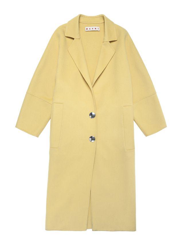 Marni Belted coat in alpaca wool Woman - 2