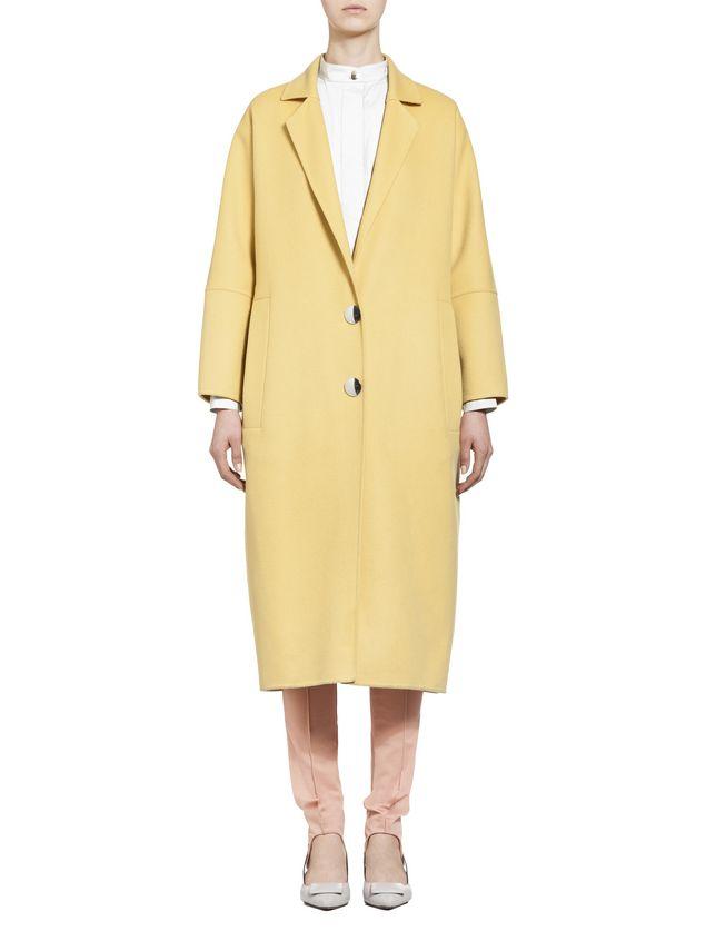 Marni Belted coat in alpaca wool Woman - 1