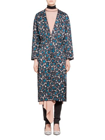 Marni Nylon coat Point Grasses Woman