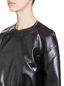 Marni Cropped jacket in faux leather Woman - 4