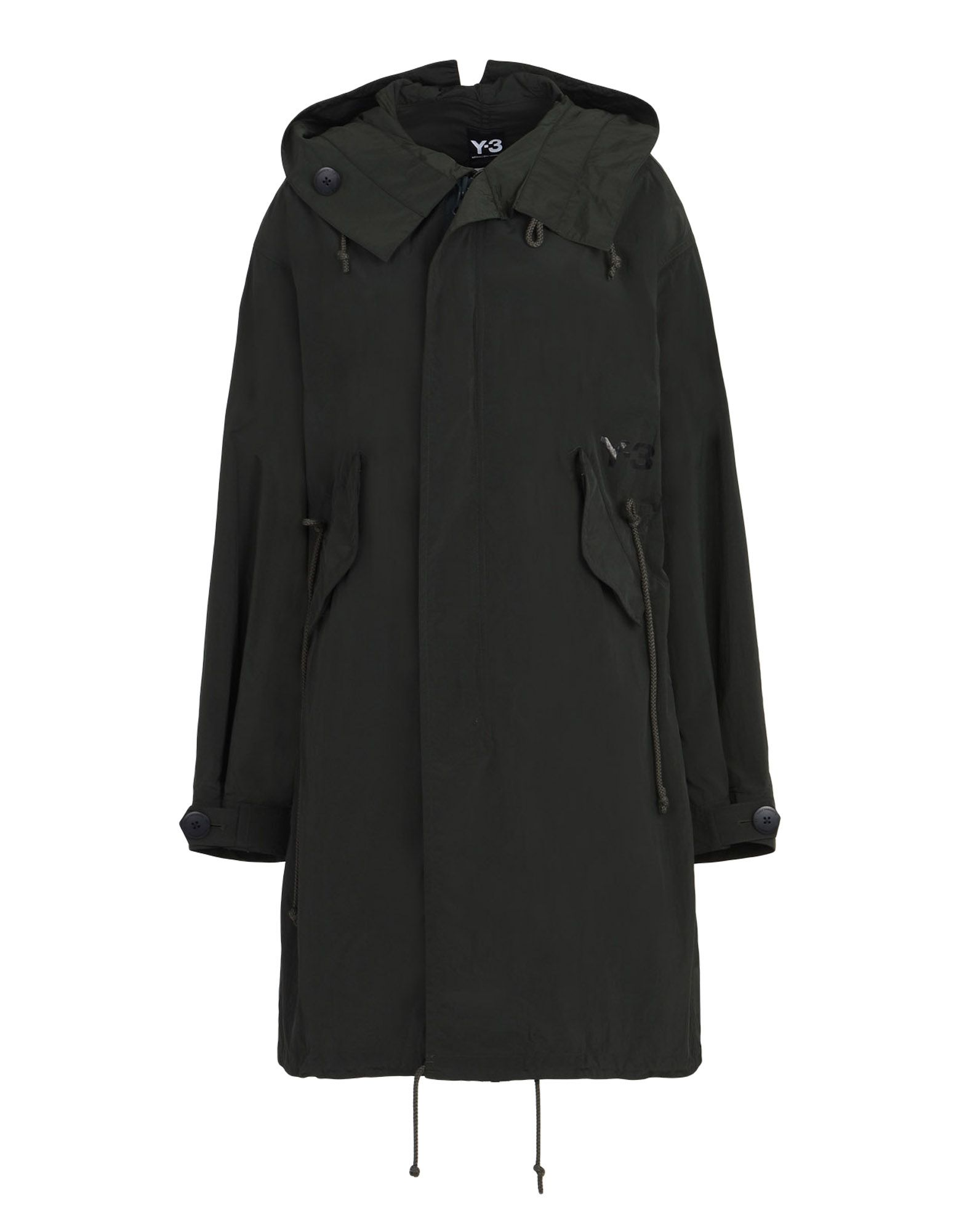Y 3 PARKA Dark Green for Women | Adidas Y-3 Official Store