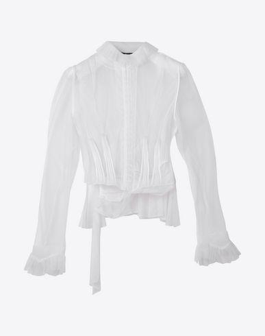MAISON MARGIELA Blazer D Transparent tulle blouse f
