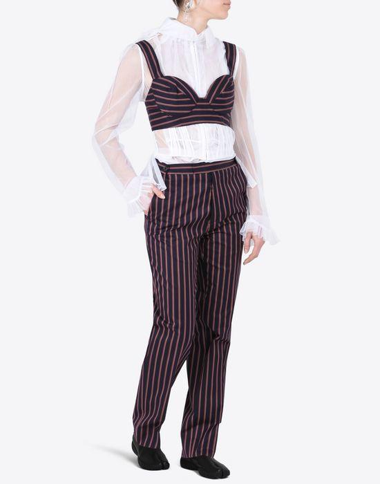 MAISON MARGIELA Transparent tulle blouse Blazer Woman d
