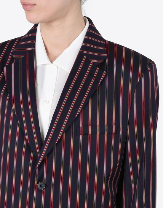 MAISON MARGIELA Striped cotton blazer Blazer D a
