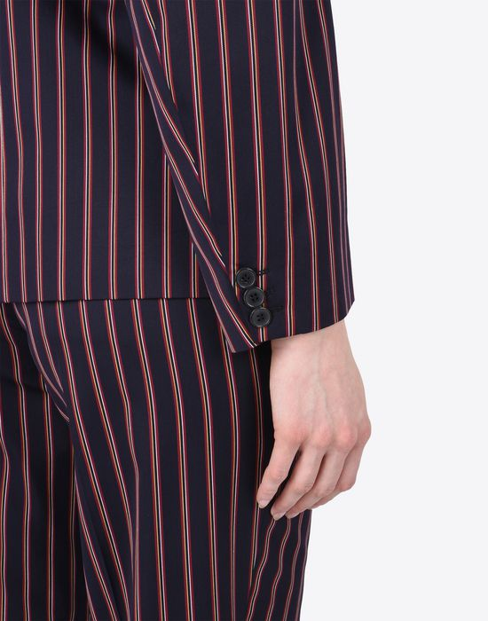 MAISON MARGIELA Striped cotton blazer Blazer D b