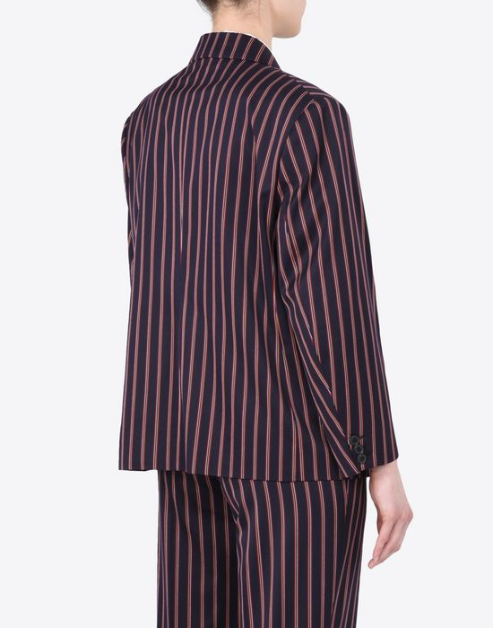 MAISON MARGIELA Striped cotton blazer Blazer D e