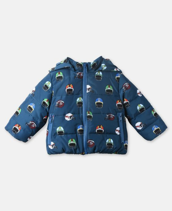 Hubert Blue Helmet Jacket