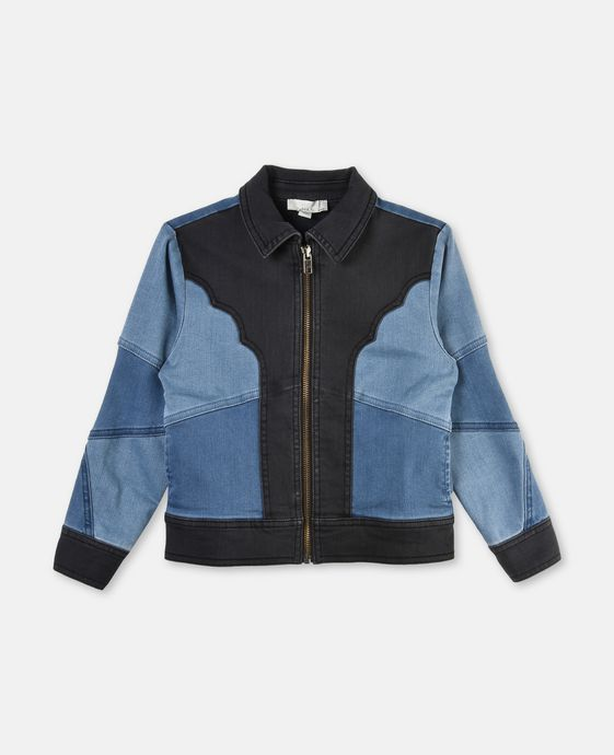 Comet Patch Denim Jacket